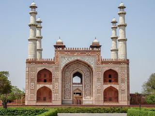 Afbeelding van Akbar's tomb and mausoleum.