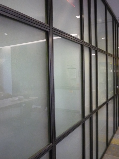 Steel And Glass Door Partition Elevation Flickr Photo
