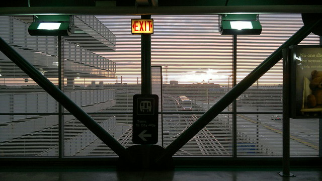 Sunrise at Chicago O'Hare