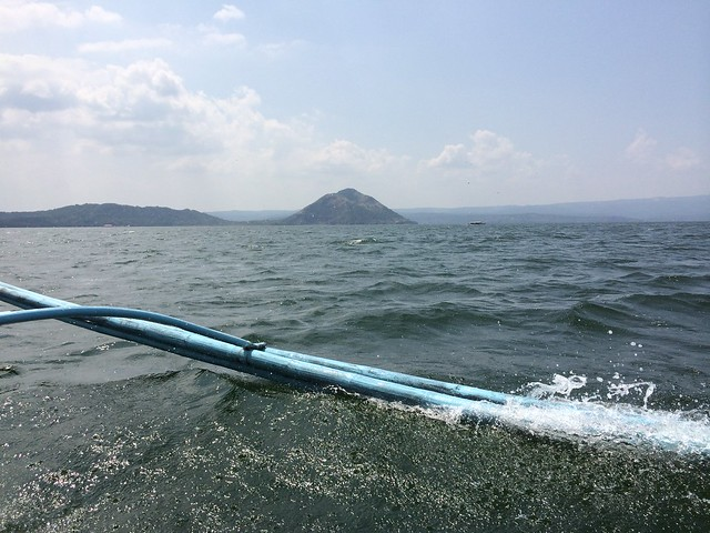 Boating it to Taal Volcano