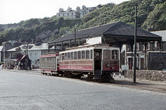 IM Isle of Man - Manx Electric Railway - MER 22 Douglas-Derby Castle Terminus - May 1971