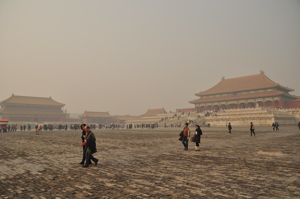 Square in Forbidden City