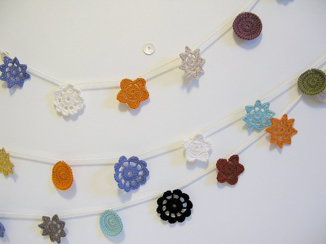 Crochet Forever Flower Garlands by Emma Lamb
