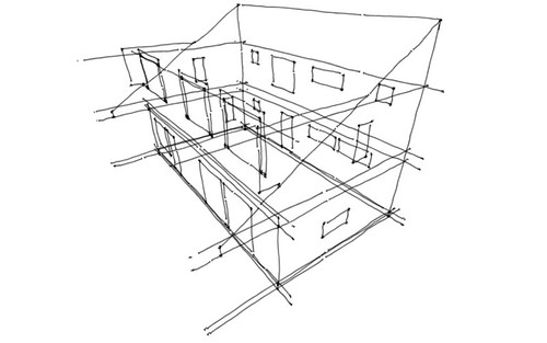 House plans and design modern house plans single pitch roof for Single gable roof house plans