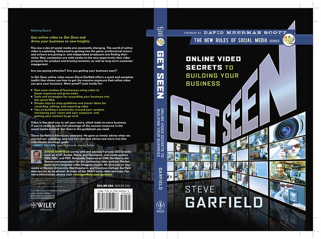 Get Seen: Book Cover - Front and Back