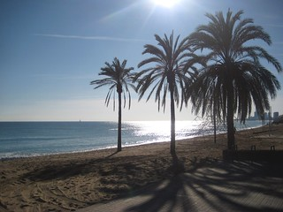 Imagen de Platja del Pont d'en Botifarreta. winter beach playa catalonia invierno catalunya cataluña platja païsoscatalans badalona hivern principatdecatalunya principadodecataluña paisescatalanes