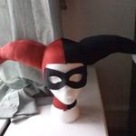 Harley Quinn cowl