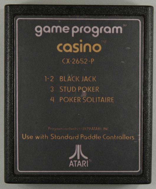 Casino atari 2600 value
