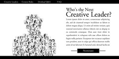 Creative Leaders Website (Advertisement)