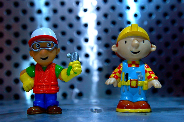 Handy Manny vs. Bob the Builder (52/365)