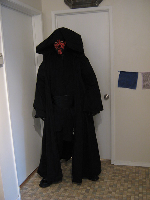 Darth maul cosyume different robe flickr photo sharing
