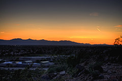 Thunderbird Sunset HDR 02
