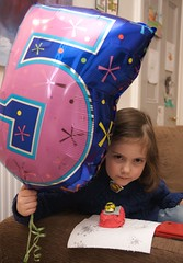 Miranda on her 5th birthday - 24 February 2010