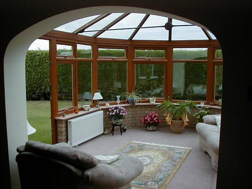 arch to conservatory
