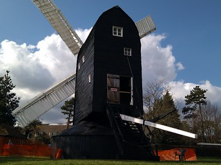 High Salvington Windmill की छवि. windmill worthing bankholidayweekend highsalvington upcoming:event=5629467