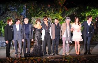 Jerry Bruckheimer; Rob Marshall; Geoffrey Rush; Penelope Cruz; Johnny Depp; Ian McShane; Keith Richards; Astrid Berges-Frisbey; Sam Claflin