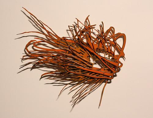 "Katy Stone ""Untitled Flower Twister (Firefly)"""