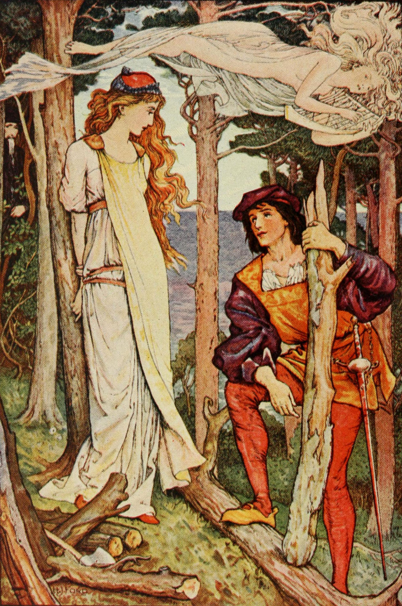 Henry Justice Ford Scene From Quot The Tempest Quot Flickr