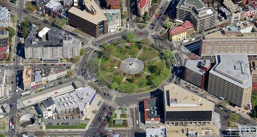 Dupont Circle Aerial