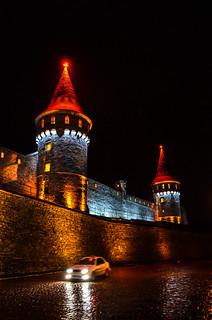 Εικόνα από Old Castle. city castle history architecture night town kamianetspodilskyi