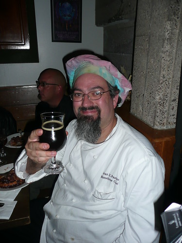 A toast by the Homebrew Chef, Sean Paxton