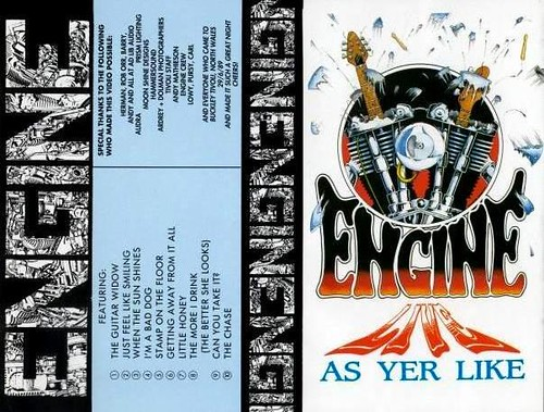 Engine - Live As Yer Like (Video Cover)