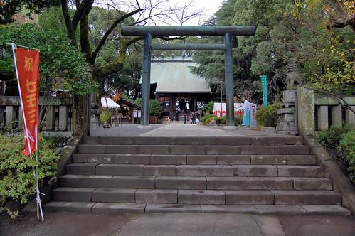 Steps to the Shrine