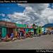 Street near mercado Las Flores, Xela, Guatemala