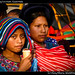 Girls eating icecream, Guatemala