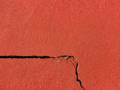 Red Wall & Crack