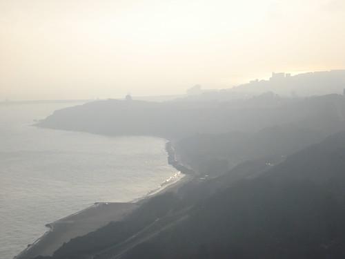 Mist over Folkestone