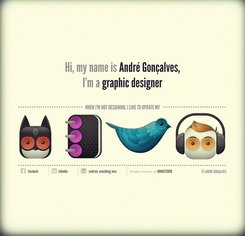 André Gonçalves | Graphic Designer