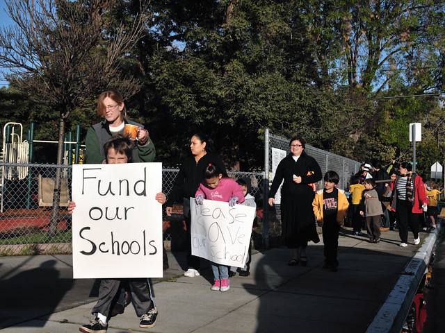 Fund our Schools - March4 Day of Action from Flickr via Wylio
