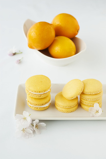 meyer lemon macarons | Flickr - Photo Sharing!