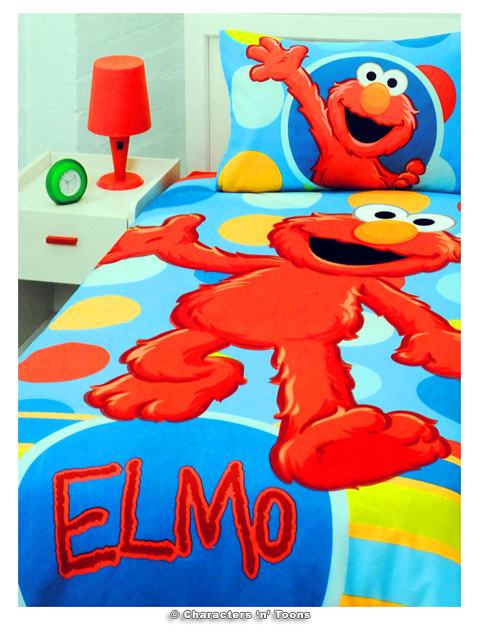 Elmo Bedding Spots Flickr Photo Sharing