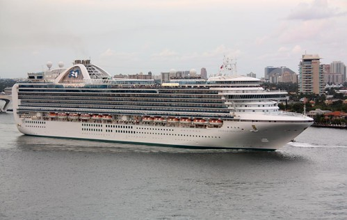Princess Cruises EMERALD PRINCESS by steamboatsorg