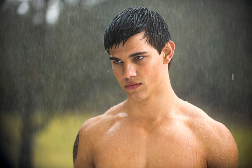 Taylor Lautner as Jacob Black in Twilight New Moon