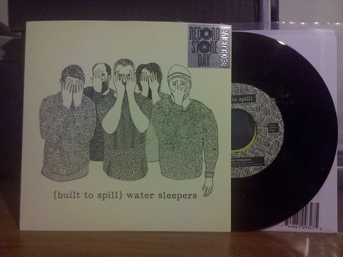 "Record Store Day Haul #1 - Built To Spill - Water Sleepers 7"" #rsd10 by factportugal"