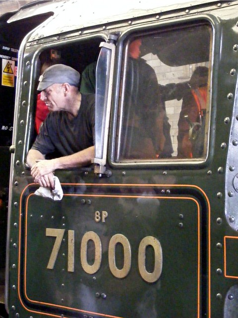 train trip fireman edinburgh