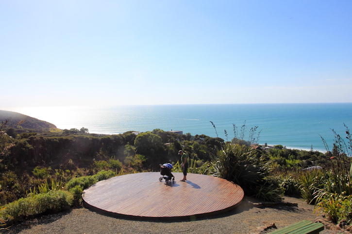 Views from Karioi Lodge, Raglan, New Zealand