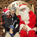 Meeting Santa at Clearwell Caves