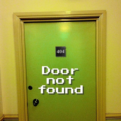 Apartment #404. Door not found