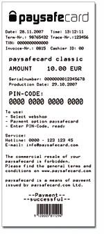 wie funktioniert paysafecard