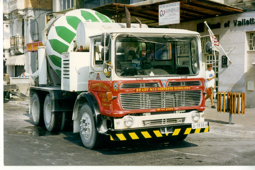 Malta -J3536-AEC Concrete mixer 6 wheeler Vassallo Concrete Supplies - Sliema