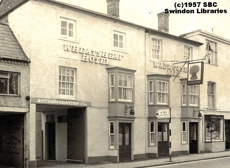1957 The Wheatsheaf Hotel On Newport Street In Old Town Flickr