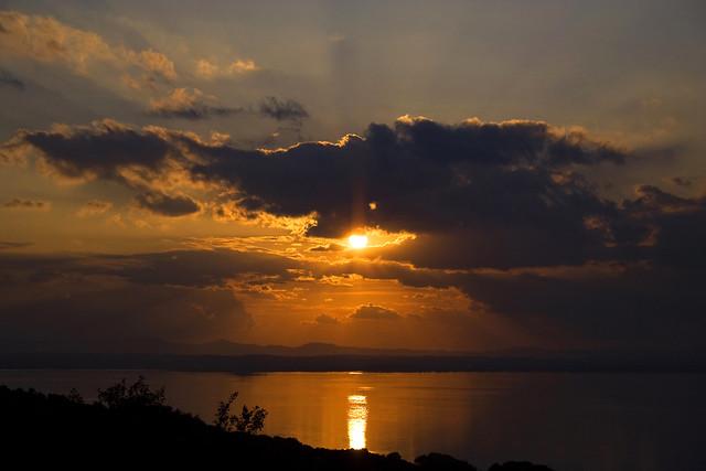 tramonto trasimeno