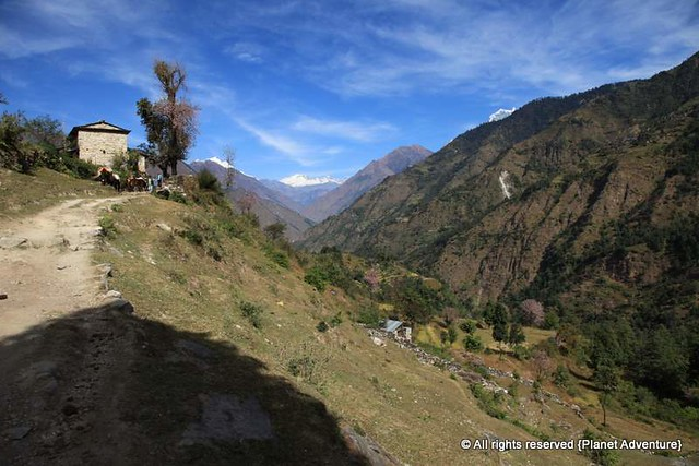 Upwards We Go -  Annapurna Circuit Trek - Nepal