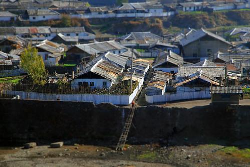 china autumn northeast northkorea yanvriver