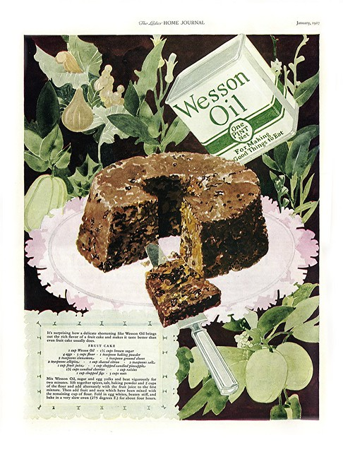 1927 Your Great Grandmother's Heirloom Fruitcake Recipe