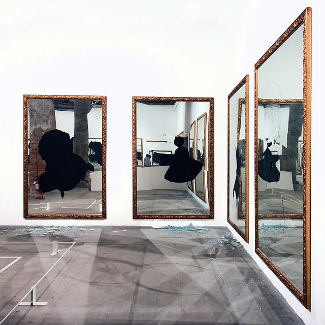 Michelangelo pistoletto mirrors a gallery on flickr - Michelangelo pistoletto specchi ...